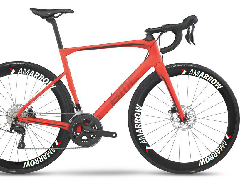BMC AmArrow Road carbon wheels disc