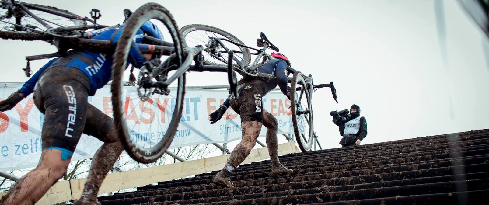 """AmArrow"" 8e tijdens WK Cyclocross"